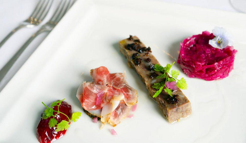 Ravintola LIV - Mangalitzaa menussa