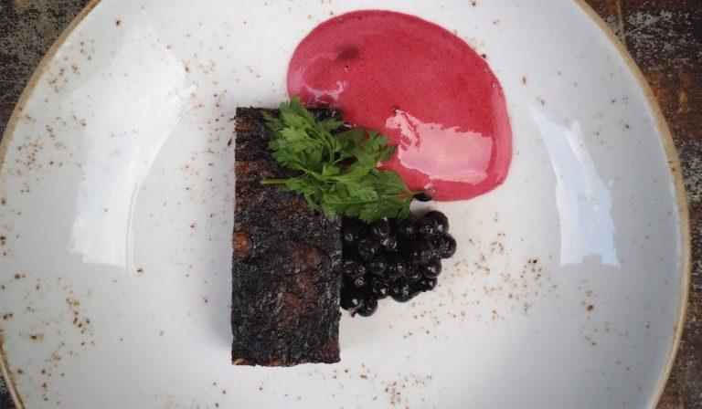 Mangalitzaa Menussa - Veripalttu - Ravintola Juuri